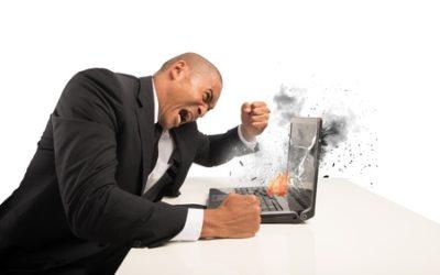 Quand la colère porte préjudice à l'activité professionnelle…